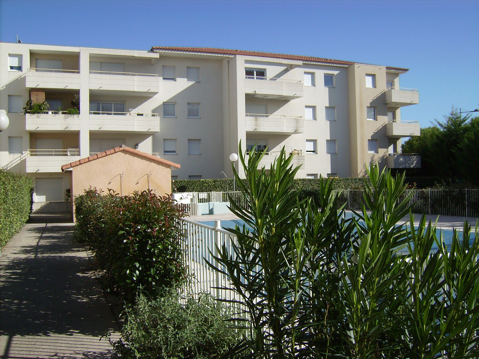 Location Montpellier T2 Meuble Dans Une Residence Avec